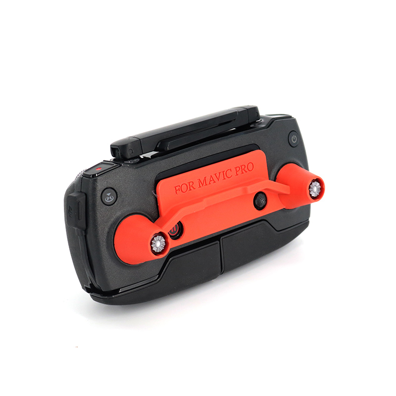 DJI Mavic pro-transporte clip stick controller control remoto bracket red