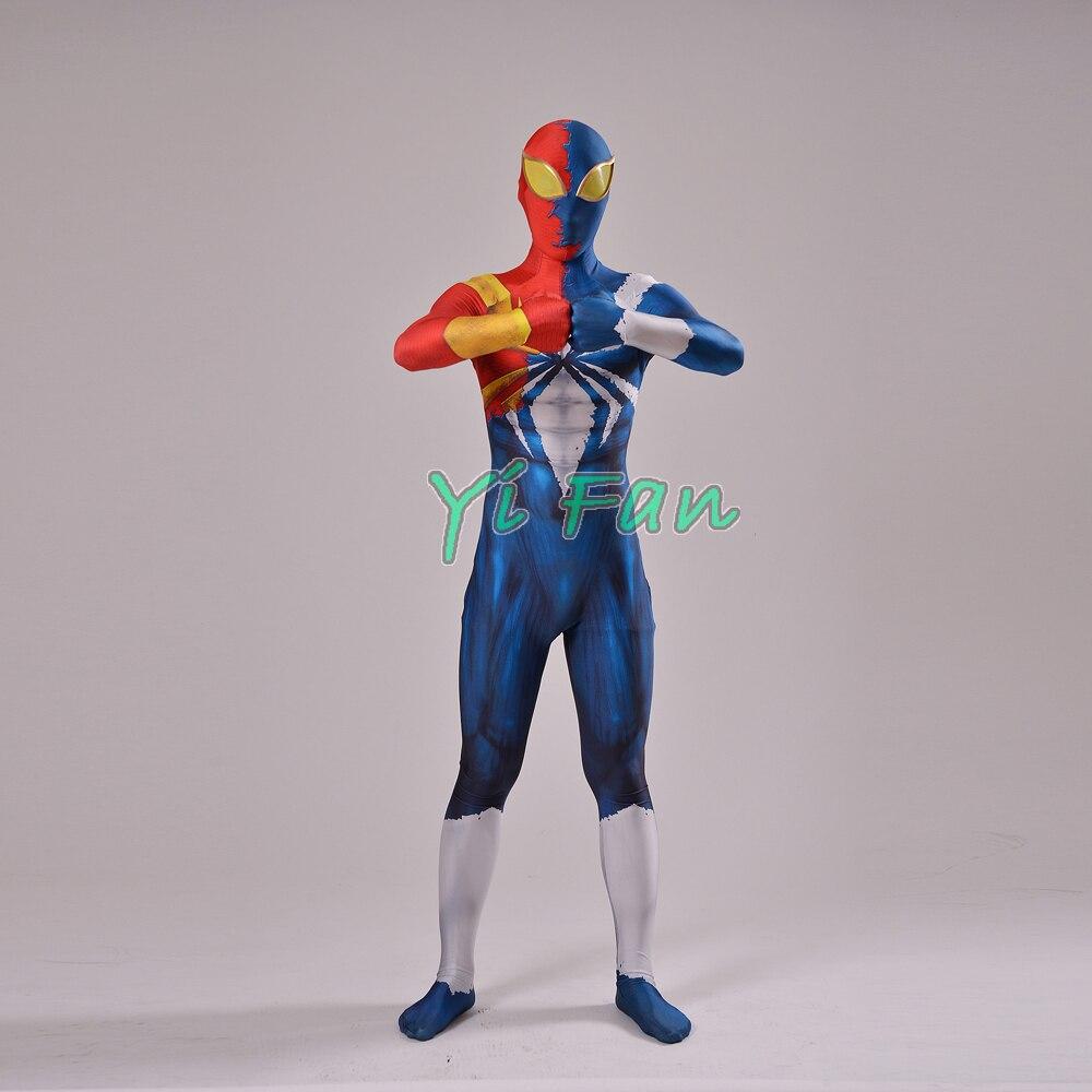 3D Print Custom Made Spider-man Cosplay Costume Custom Superhero Spandex Spiderman Zentai Suit Hot Sale