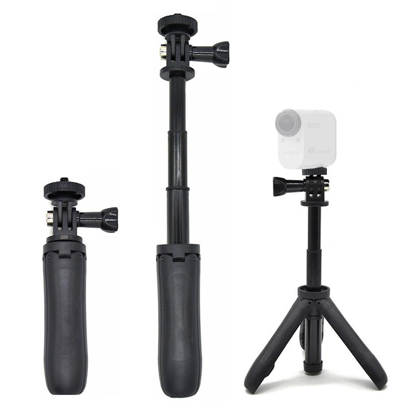 Handheld Mini Tripod Mount Selfie Stick Extendable Monopod for Sony Mini Cam Action Camera HDR AS20 AS30V AS15V AS200V AS300