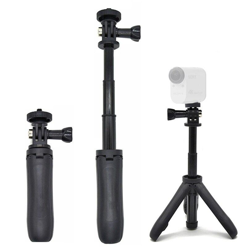 Handheld Mini trípode Selfie Stick extendible Monopod para Mini cámara de la acción de Sony HDR AS20 AS30V AS15V AS200V AS300