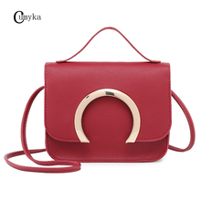 CUMYKA Mini Personality Shoulder Bags Small Fashion PU Leather Handbag Wholesale Mobile Phone Casual Crossbody Bag