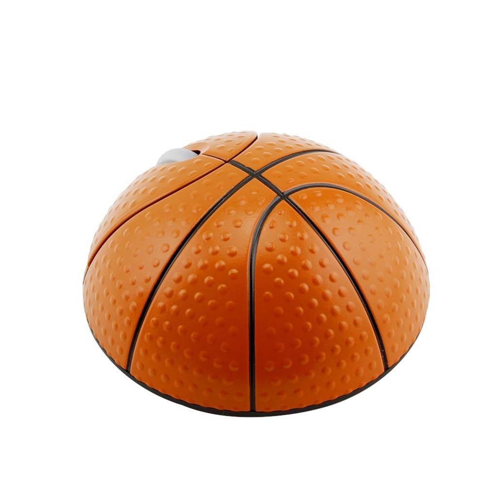 VOBERRY trend 2,4G фотоэлектрическая креативная Беспроводная баскетбольная мышь эргономичная 3D оптическая Спортивная мышь в форме баскетбола для ноутбука-1