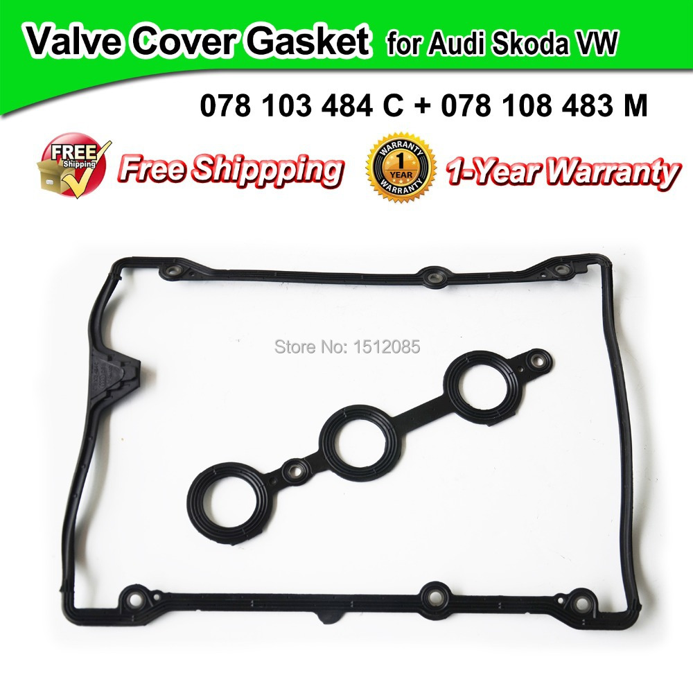 Valve Cover Gasket/Cylinder Head Cover for Audi A4 A6 A8 Allroad Superb Passat OE# 078103484A, 078103484C,078198025,078103483M