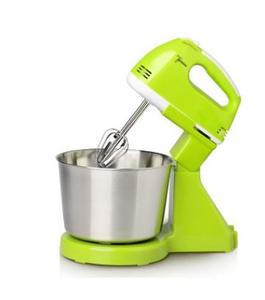 Electric Food Mixer Table &Stand Cake Dough Mixer Handheld Egg Beater Blender Baking Whipping Cream Machine 7 Speed