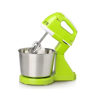 Mélangeur de nourriture électrique Table et support mélangeur de pâte à gâteau mélangeur de batteur à oeufs de poche mélangeur de cuisson Machine à crème à fouetter 7 vitesses