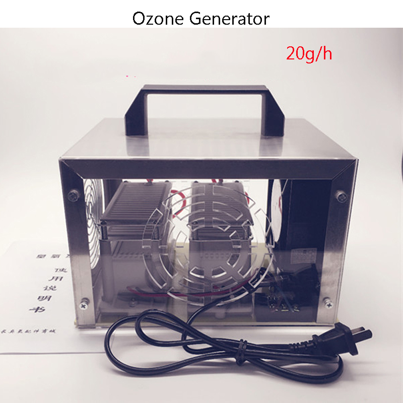 220V Air Purifiers Ozone Generator 20g/h Ozonator Portable Ozonizer With Timing Switch High Quality