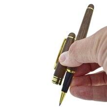 Gel Pen Walnut 0.5 mm Black Refill Ink Wood Gel Ink Pen Stationery Office Accessories School Supplies Joy Corner 0 7mm white highlight pen sketch markers paint marker pen white ink gel pen for office school supplies joy corner