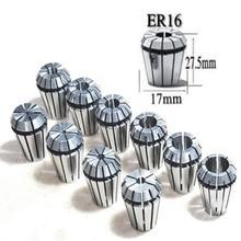 Retail 10Pcs/Set Ultra Precision ER16 1-10MM Spring Collet Set For CNC Milling Lathe Tool Engraving Machine Spring Collet Chuck
