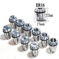 Detaliczna 10 sztuk/zestaw ultra precyzyjne ER16 1-10MM zestaw tulei sprężynowych dla frezowanie cnc narzędzie tokarskie maszyna do grawerowania zacisk sprężynowy