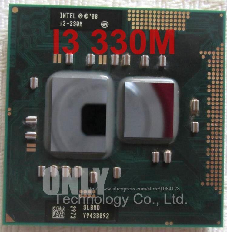 Original Intel Core Processor I3 330M 3M Cache 2.1 GHz Laptop Notebook Cpu Processor Free Shipping I3-33M