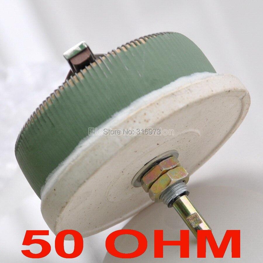 100W 50 OHM High Power Wirewound Potentiometer, Rheostat, Variable Resistor, 100 Watts.100W 50 OHM High Power Wirewound Potentiometer, Rheostat, Variable Resistor, 100 Watts.