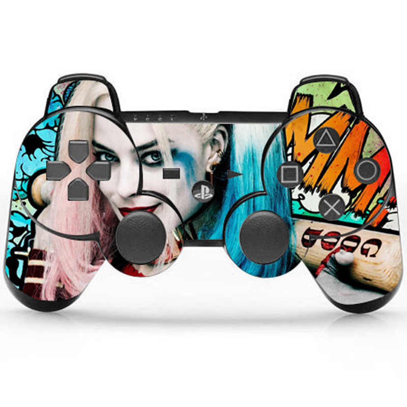 X contingent Vinyl Skin Sticker Protector For Sony PS3 Controller Skins Cover For Playstation3 Gamepad Joystick Decal