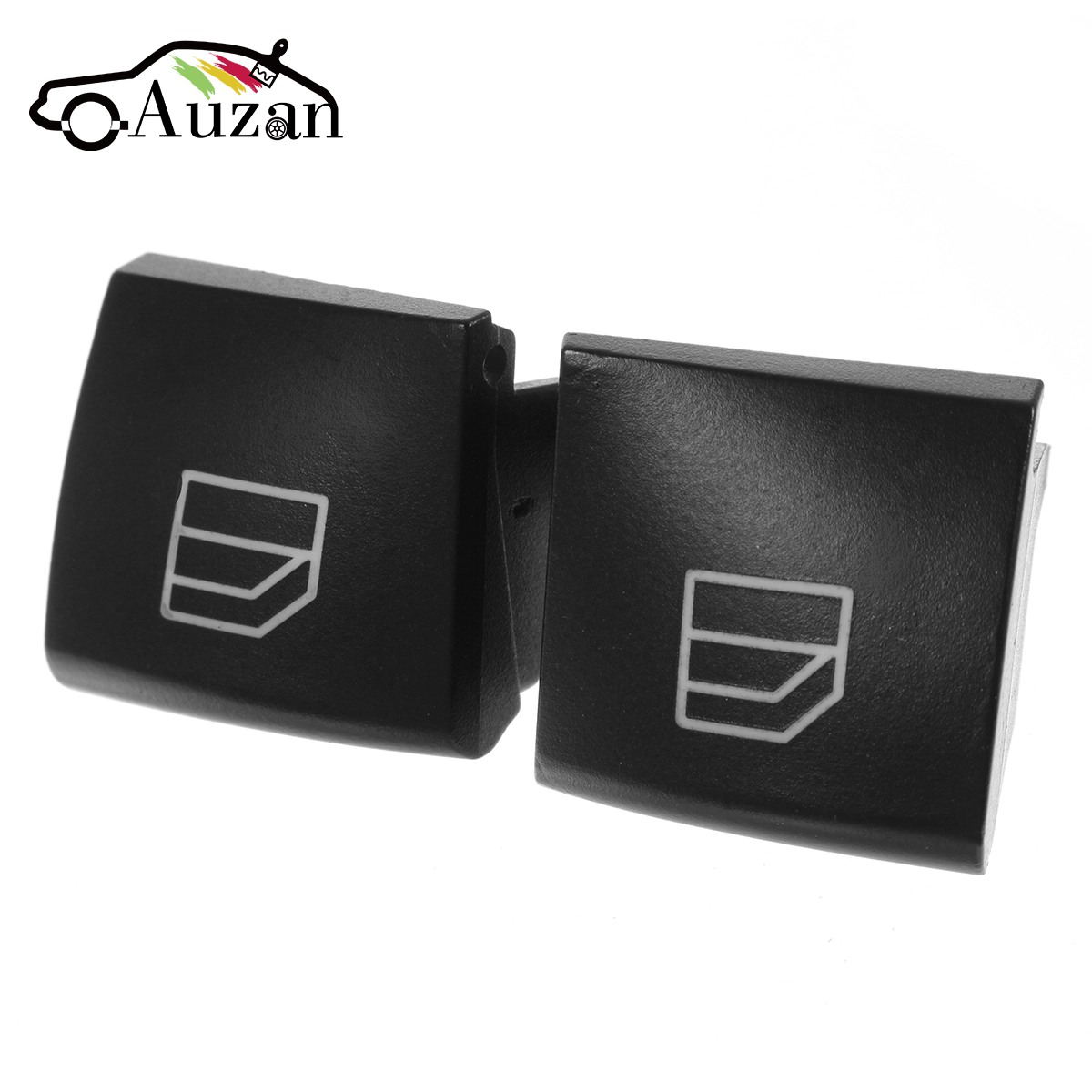 2Pcs for Mercedes ML GL Car Driver Window Switch Repair Button Cap Driver Seat Window Switch R Class W164 X164 W251