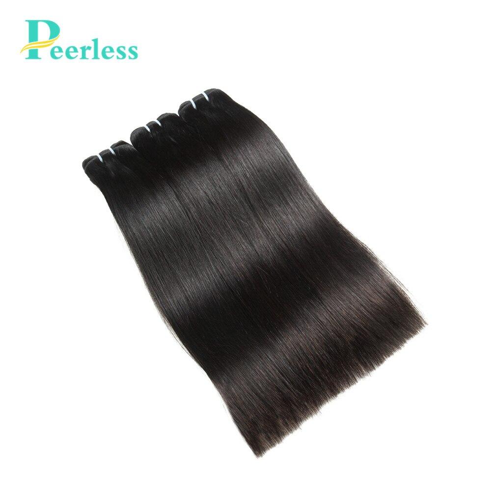Peerless Hair Peruvian Straight Hair 100 Virgin Human Hair Double