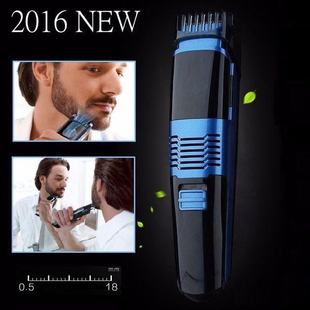 Professional Vacuum beard trimmer for men trimer mustache electric shaving beard cutter hair cutting machine adjust 0.5-18mm