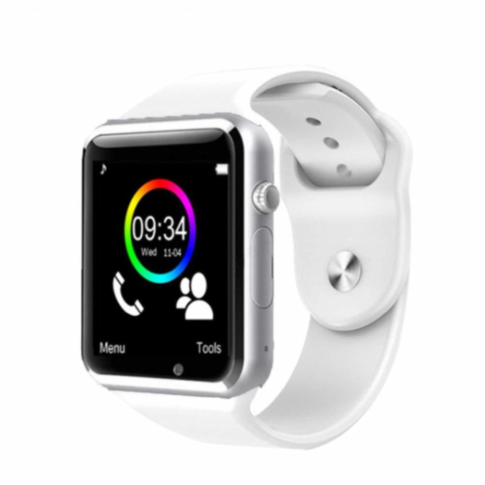 355ed98ab273f Reloj inteligente Bluetooth W8 para Apple Watch con cámara 2G ranura para tarjeta  SIM TF Smartwatch para Android IPhone rusia T15