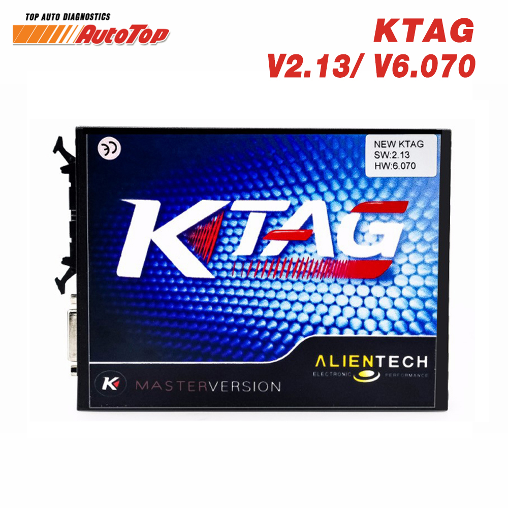 2017 New KTAG V2.13 FW 6.070 Car ECU Chip Tuning Tool Master Version No Token Limit K-TAG ECU Programming Tool Free ECM Titanium free delivery car engine computer board ecu 0261208075