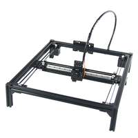 Guide Rail version Frame drawing robot support laser A4 A3 engraving area frame plotter robot kit for drawing writing