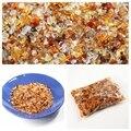 Naturales ágata rojo Roae de cuarzo rosa de piedras de cristal puntos perlas 200 g/lote cayó piedra Chakra Sanación Reiki envío gratis