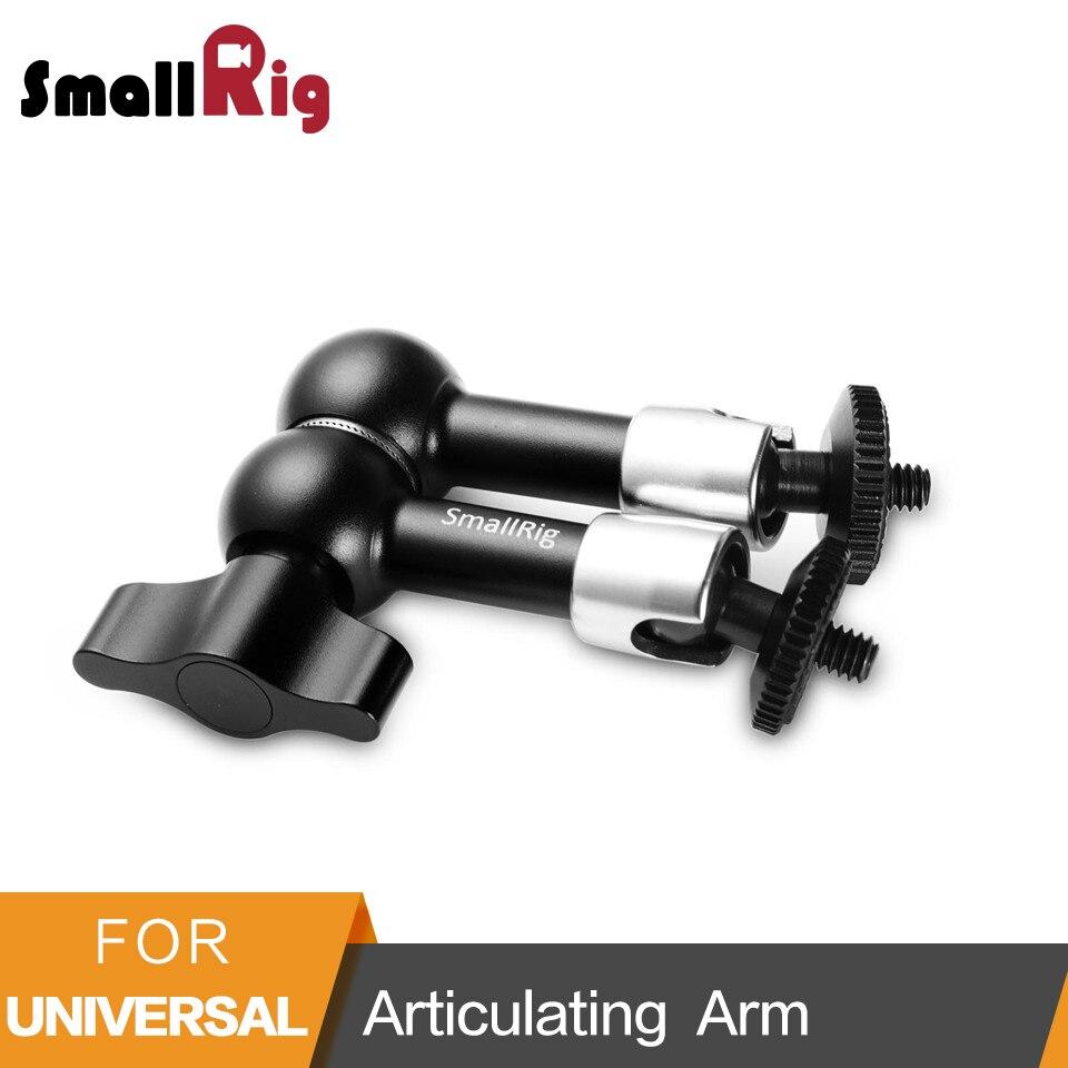 SmallRig 7 pulgadas potencia de fricción ajustable articulando brazo mágico con 1/4