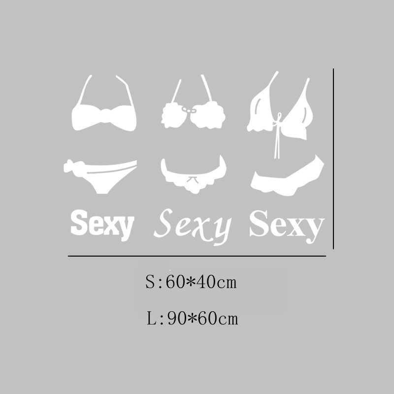 DCTAL нижнее белье бикини бюстгальтер одежда хранение сексуальная леди девушки наклейка на стекло стену одежда хранение Cloakroom Декор витрины