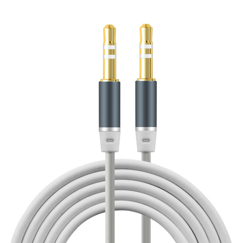 3.5mm Jack Audio Cable Gold Plated Jack 3.5 mm Male to Male TPE Audio AUX Extension Cable For iPhone Car Headphone Beats Speaker