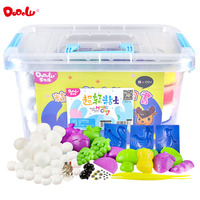 DODOLU 24 Color Ultra Light Clay Box Canned Children DIY Puzzle Space Clay Toy Sand Clay