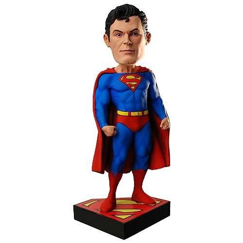ФОТО FREE SHIPPING superhero Avengers Assemble Dc Comics Superman Head Knocker Bobbleheads New In Box