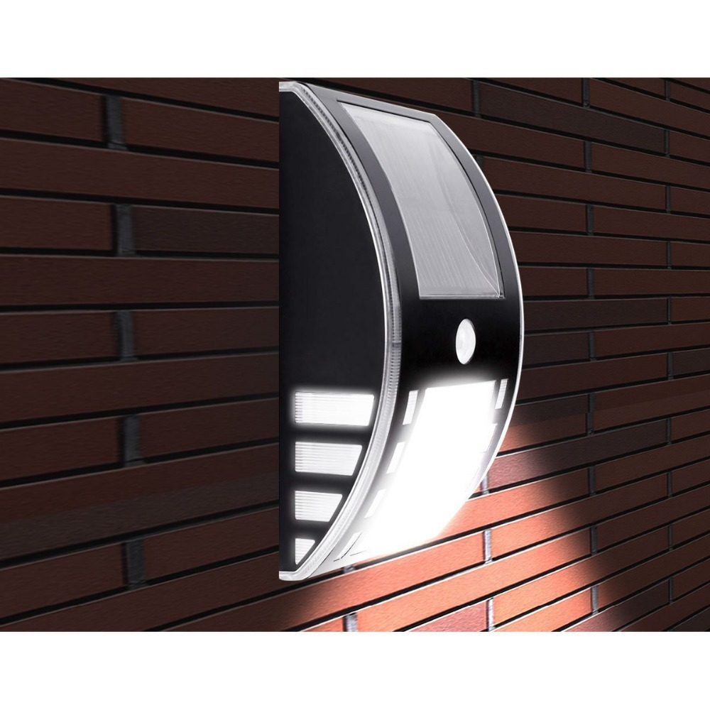 Solar Ed Led Motion Sensor Light Wireless Night Wall Security For Door Entrance Pathways Garden In Lamps From Lights Lighting On