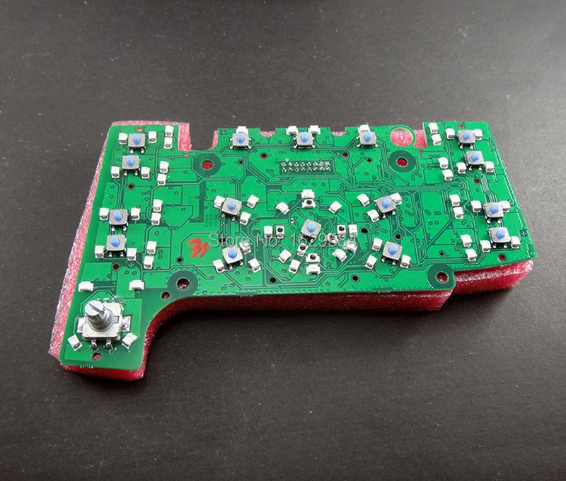 ФОТО 10 pcs / lot Multimedia MMI Control Panel Circuit Board (With Navigation) Case For A6 A6 Quattro S6 C6  Q7  4F1919611 4L0919610