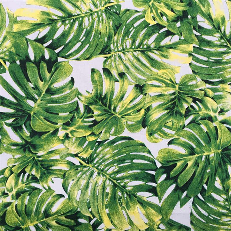 90x140 cm полиэстер хлопок граффити трава канва ткань для подушки стол ткань и другие ремесло шитья