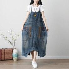 Женские Мешковатые комбинезоны с крестиками больших размеров, винтажные комбинезоны с заниженным шаговым швом, вымытые джинсовые комбинезоны с принтом хип-хоп шаровары, джинсы YT224-1