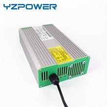Yzpower 54.6 В 4.5A 5A 5.5A 6A 6.5A 7A 7.5A 8A литий-ионный lipo Батарея Зарядное устройство Выход DC Вход 100 -240 В