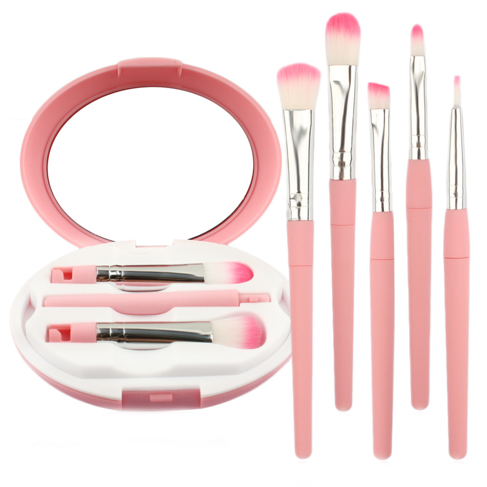 Makeup Brush Facial Mask Fan Cosmetics Blending Brush Tool professional makeup brushes powder brush conclear lipstick brushes professional makeup brush 1pc