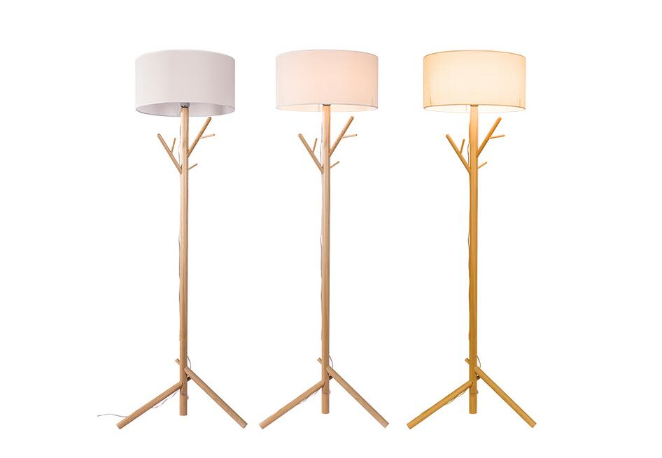 Superieur Floor Lamp Nordic Living Room Study Bedroom Bedside Decoration Solid Wood Tree  Branches Down Table Lamp ZL18 Light Ya73 In Floor Lamps From Lights ...