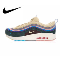 Original Authentic Nike Air Max 1/97 VF SW Mens Running Shoes Sneakers Sport Outdoor Walking Jogging Sneakers Comfortable AJ4219