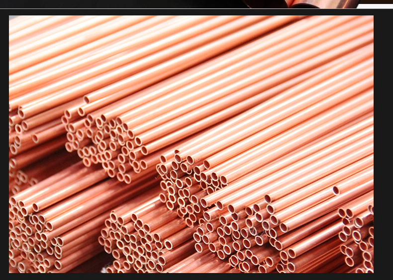 Fast free ship meter copper coil tube pipe hard