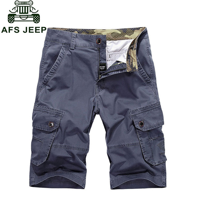Retro 2017 Brand Clothing CLOTHES Plus Size Shorts Cotton Summer Men's Army Cargo Casual Shorts Pocket Short Pant Pantalones