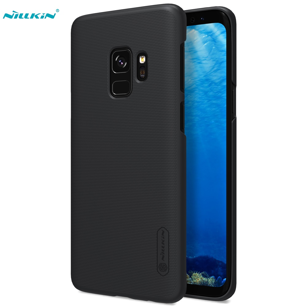 Case For Samsung Galaxy S9 S9+ NILLKIN Super Frosted Shield back cover Case For Samsung Galaxy S9 Plus with Retail packageCase For Samsung Galaxy S9 S9+ NILLKIN Super Frosted Shield back cover Case For Samsung Galaxy S9 Plus with Retail package