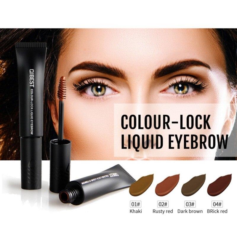 Hot Sell Hose Waterproof Eyebrow Dye Gel Creme Makeup Professional Tattoo Pen Eyebrow Pencil Eyes Makeup Tattoo Pen With Brush