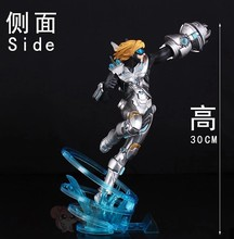 Cool Game LOL Action Figure EZ Ezreal PVC Figurines Model Collection Toys 0cm LOL All star The future soldier EZ free shipping