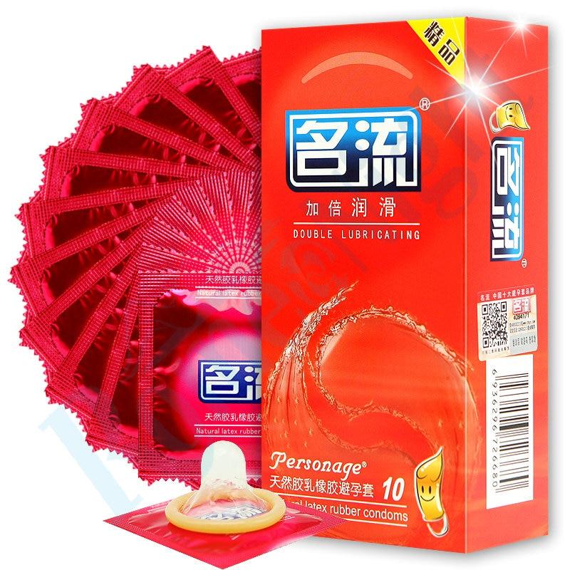Große Öl Erotische Kondome Mingliu 10 Teile/paket Nautural Latex Dünnen Doppelten Schmier Vergnügen Gummi Penis Kondome Für Männer Schönheit & Gesundheit Kondome