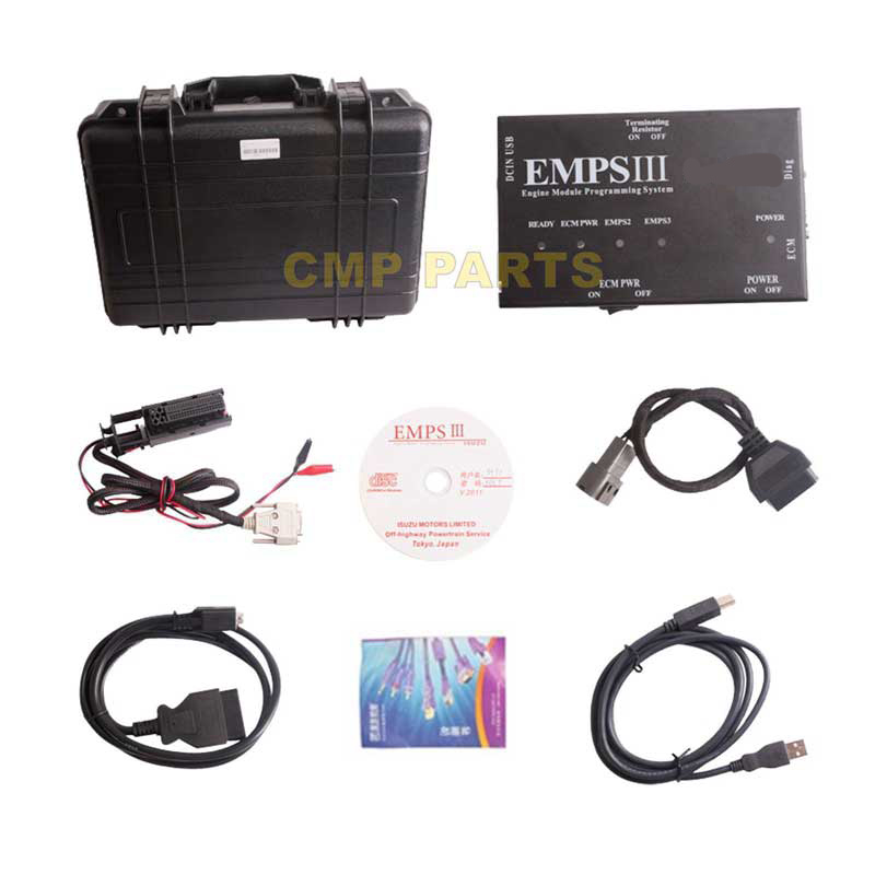 V2012.5 Strumento di Diagnostica Motore per ISUZU EMPSIII EMPS 3 Camion Programmazione Plus con Level Dealer Strumenti Diagnostici