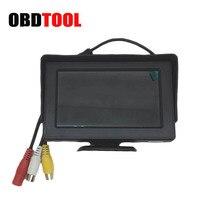 4.3 Inch LCD Digital Screen Car HD Rear View Car Display Blind Spot Visible PAL/NTSC DC 12V 24V 800 x 480 Auto Rear View Monitor