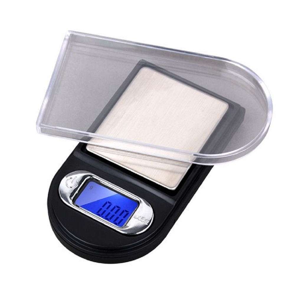 Image 2 - 100g*0.01g Mini High Precision Scale Pocket Digital Jewelry Electronic Portable Balance Lab 0.01g Scale Weight Medicinal Herbs-in Weighing Scales from Tools
