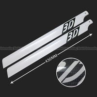 430mm Carbon Fiber Main Rotor Blades For Trex T Rex 500 Helicopter