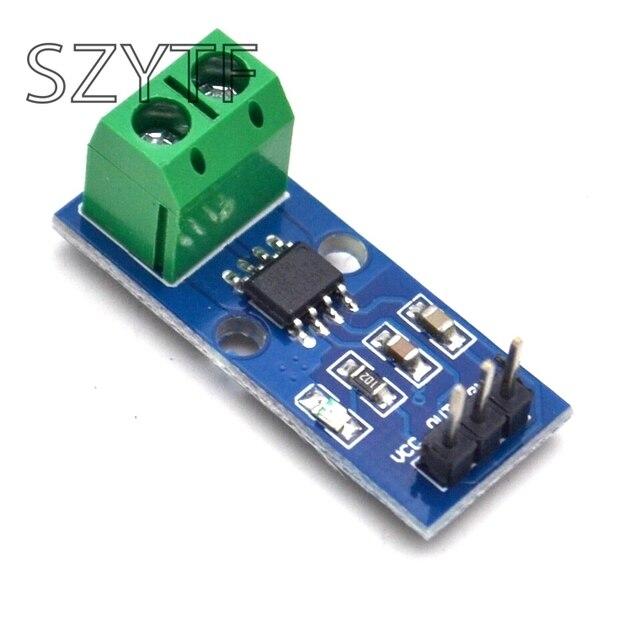 10 Uds 5A 20A 30A de ACS712 Módulo sensor de corriente para