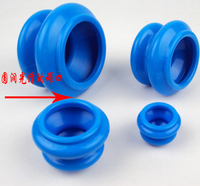 4pcs Rubber Clearing Damp Cupping Cups Body Massage Helper Suction Treatment Anti Cellulite Slimming Health Care Tool Therapy