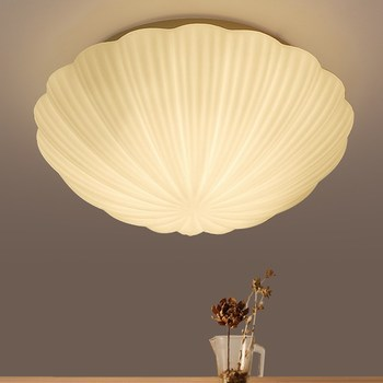 Mediterranean LED ceiling lights bedroom glass shells ceiling lamp fashion balcony lamp children room lamps corridors lamp ZL414