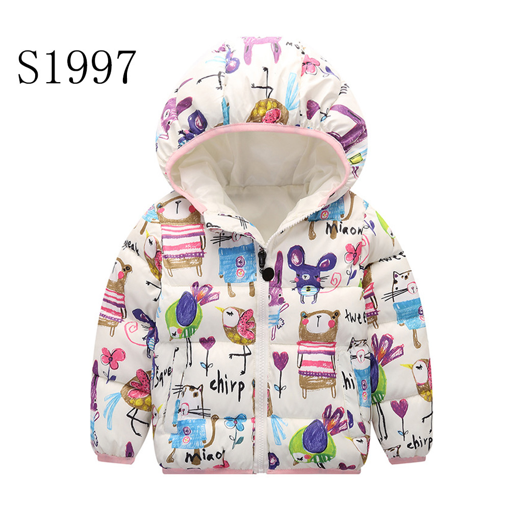 New Kids Toddler Boys Jacket Coat For Children Outerwear Clothing Casual Baby Girls Clothes Autumn Winter Windbreaker 2-8 Years 2017 new children baby winter cotton padded jacket toddler girls boys zipper nylon coat fashion outerwear kids parkas clothes